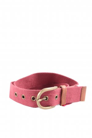 American Apparel Fabric Belt pink casual look
