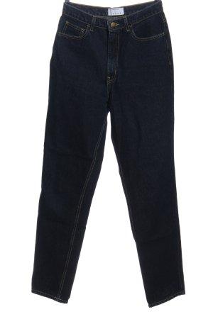 American Apparel Straight-Leg Jeans schwarz Casual-Look