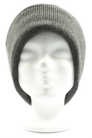 American Apparel Sombrero de punto gris claro look casual
