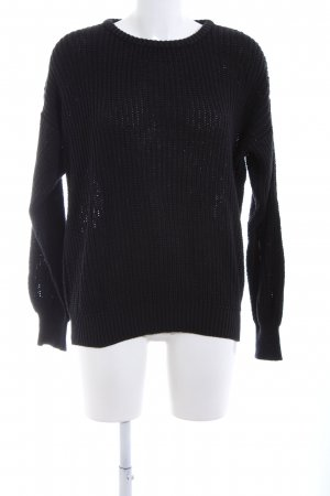 American Apparel Strickpullover schwarz Casual-Look