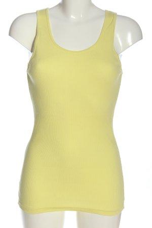 American Apparel Haut tricotés jaune primevère style décontracté