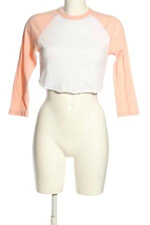 American Apparel Sweatshirt nude-weiß Casual-Look