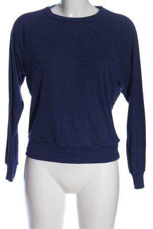 American Apparel Sweatshirt blau Casual-Look
