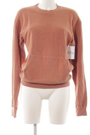 American Apparel Sweatshirt lachs Casual-Look