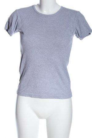 American Apparel T-Shirt blau Casual-Look