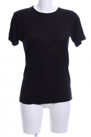 American Apparel T-Shirt schwarz Casual-Look