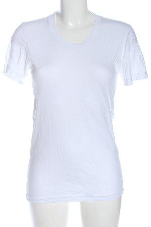 American Apparel T-Shirt weiß Casual-Look