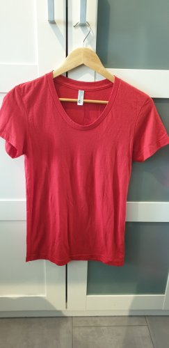 American Apparel T-shirt rood