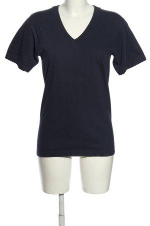 American Apparel T-Shirt blau Casual-Look
