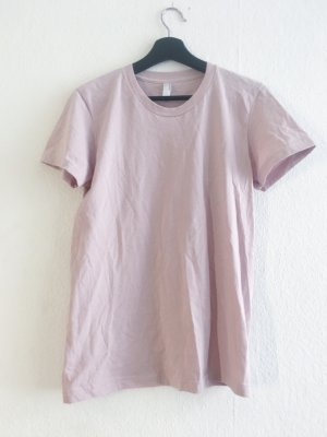 American Apparel T-Shirt taupe Lavendel S