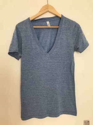 American Apparel Basic Shirt cornflower blue polyester