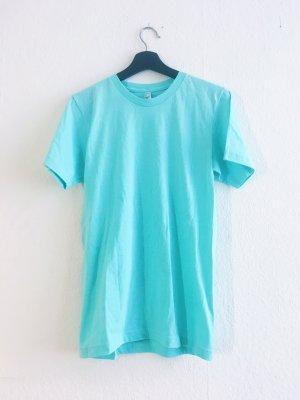 American Apparel T-Shirt turquoise-light blue