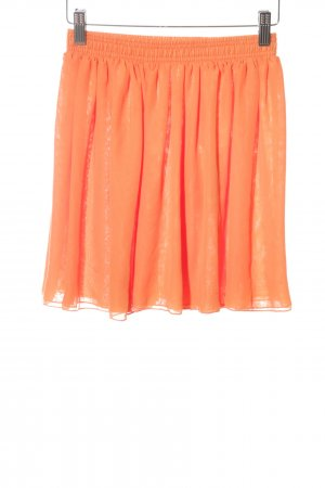 American Apparel Jupe corolle orange clair style extravagant