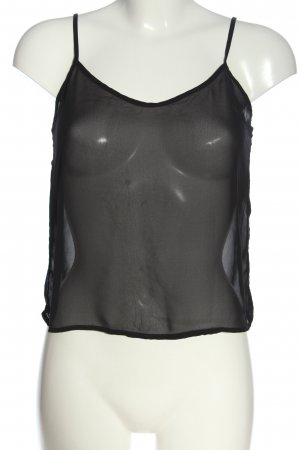 American Apparel Strappy Top black street-fashion look