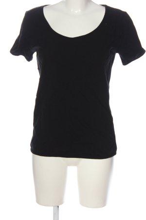 American Apparel Boothalsshirt zwart casual uitstraling