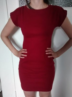 American Apparel Mini-jurk rood