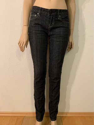 American Eagle Outfitters Jeans coupe-droite gris anthracite