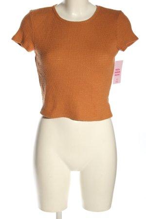 american eagle T-shirt court orange clair style décontracté