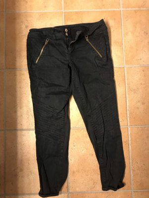 American Eagle Outfitters Pantalon 3/4 gris anthracite