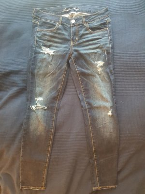 American Eagle Outfitters Jeans stretch bleu