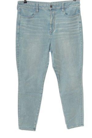 american eagle Jeans slim bleu style décontracté