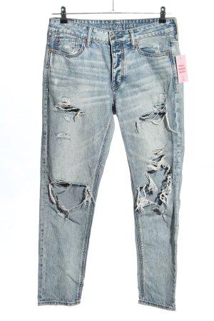 american eagle Slim Jeans blue casual look