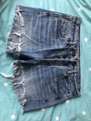 American Eagle Outfitters High waist short blauw