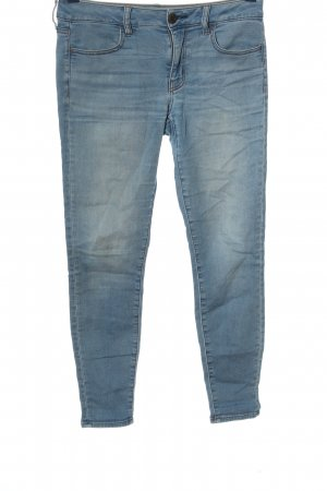 american eagle Low Rise jeans blauw casual uitstraling