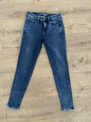 American Eagle Outfitters Jeans taille haute gris ardoise