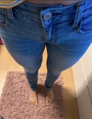 American Eagle Outfitters Skinny jeans lichtblauw-lichtblauw