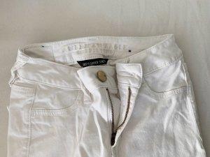 american eagle Jeans skinny bianco