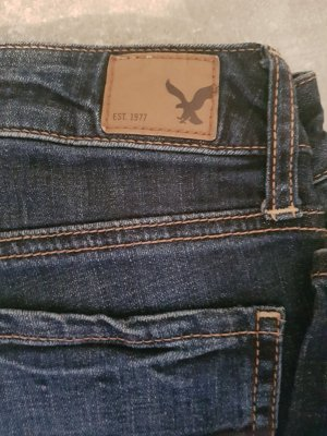 American Eagle Outfitters Jeans slim bleu foncé