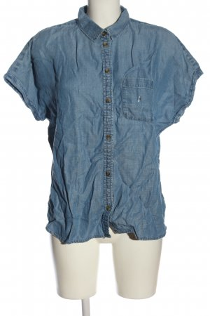american eagle Denim Shirt blue casual look