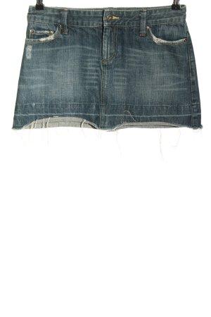 american eagle Denim Skirt blue street-fashion look