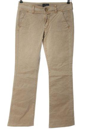american eagle Jeans flare crème style décontracté