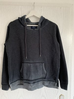 American Eagle Outfitters Hooded Sweater slate-gray