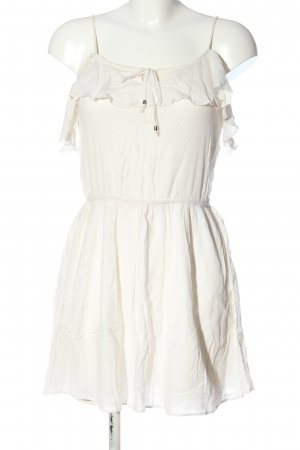 american eagle Mini vestido blanco look casual