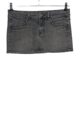 american eagle Mini-jupe noir style décontracté