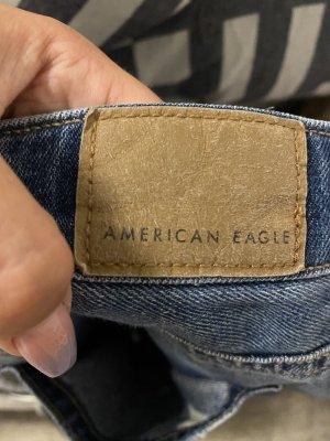 american eagle Jean mom multicolore