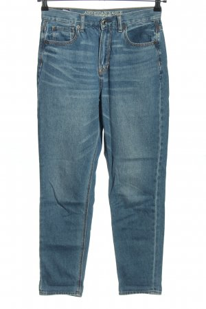 American Eagle Outfitters Baggyjeans blau Casual-Look