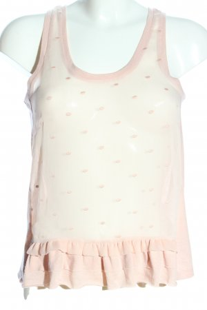American Eagle Outfitters Blouse topje room gestippeld patroon
