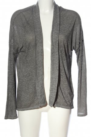 American Eagle Outfitters Cardigan hellgrau meliert Casual-Look