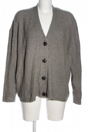 American Eagle Outfitters Cardigan khaki gestreept patroon casual uitstraling