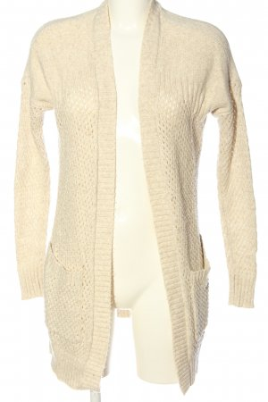 American Eagle Outfitters Cardigan bianco sporco stile casual