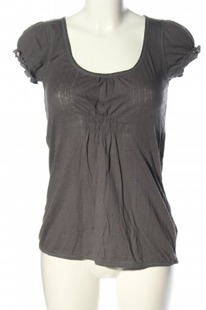 American Eagle Outfitters Empire Waist Shirt hellgrau Casual-Look
