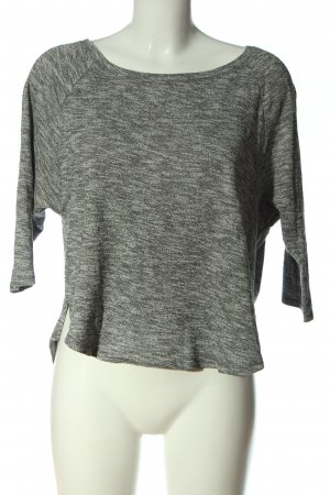 American Eagle Outfitters Fine Knit Jumper grey flecked casual look