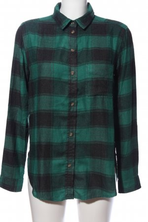 American Eagle Outfitters Flannel Shirt green-black check pattern casual look