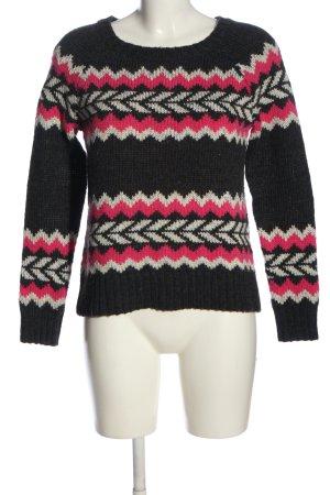 American Eagle Outfitters Szydełkowany sweter Łączone wzory W stylu casual