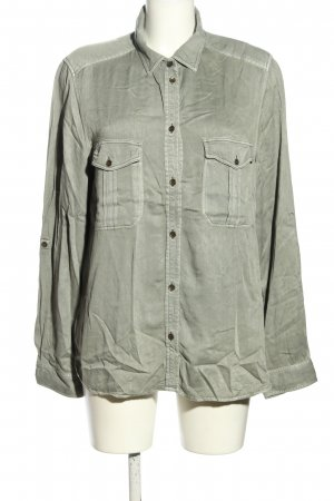 American Eagle Outfitters Blusa-camisa gris claro look casual
