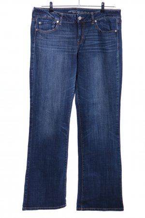 American Eagle Outfitters Jeans taille basse bleu style décontracté